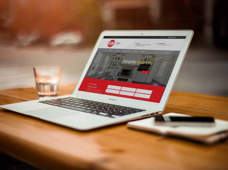 website development qei security & technology