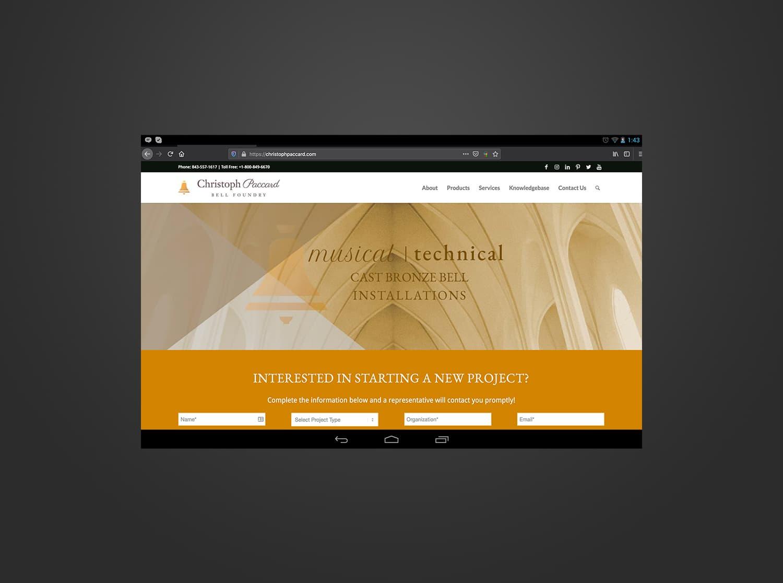 wordpress design christoph paccard